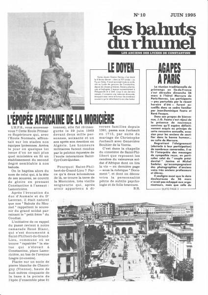 Bahuts-N°10-Juin1995-NB400