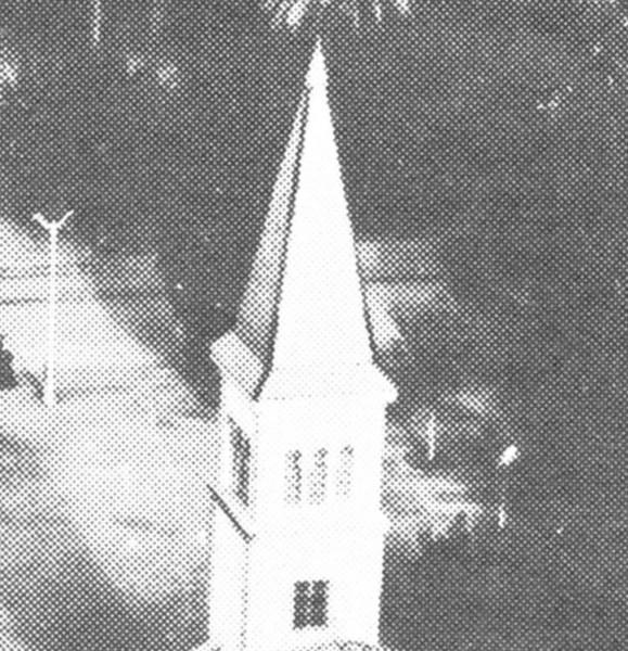Flèche Eglise de Jemmapes