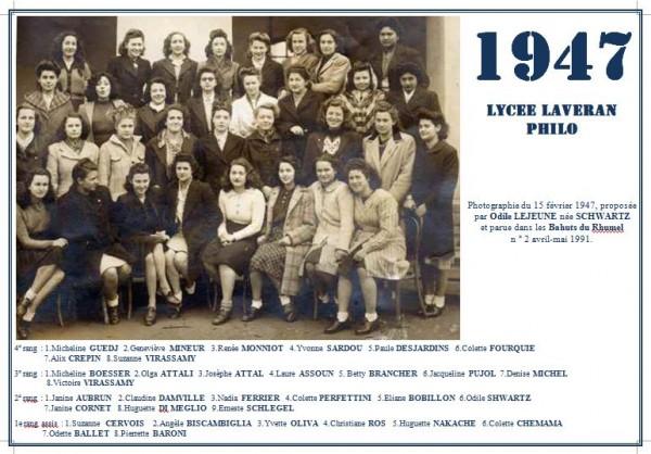 Capture-Laveran-1947-Philo-Odile LeJeune née Schwartz