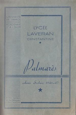 Laveran-Palmarès 1947-Une-