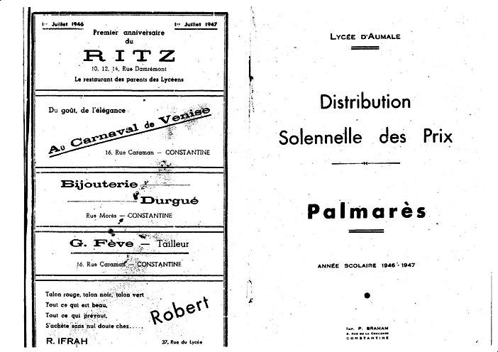 Une-Aumale-Palmarès 1947-AMillet