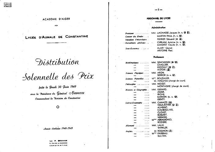 Une-Aumale-Palmarès 1949-AMillet