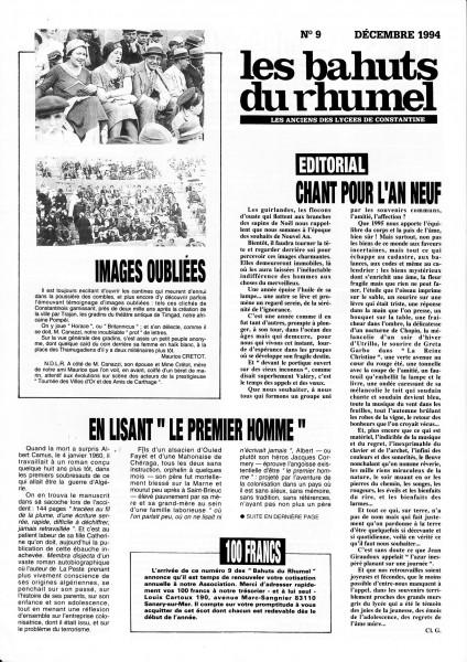 Une-Bahuts-N°9-Déc1994-NB400