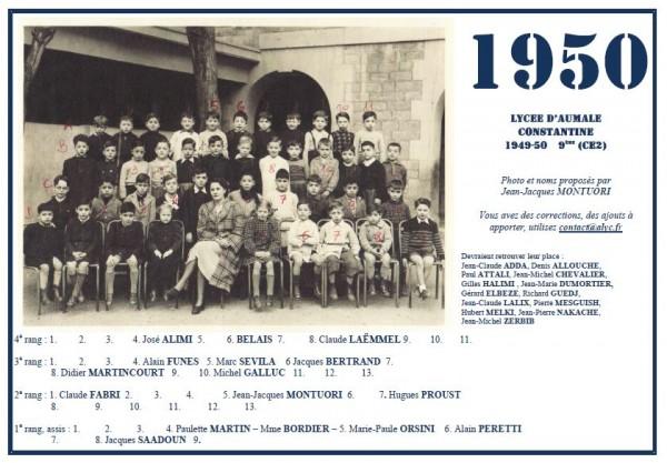 A-1949-50-9éme-Mme Bordier-JJM