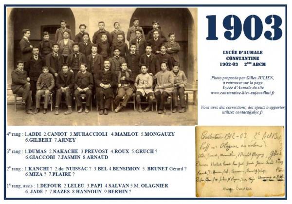 Aumale – 1902-03-2ème ABCM