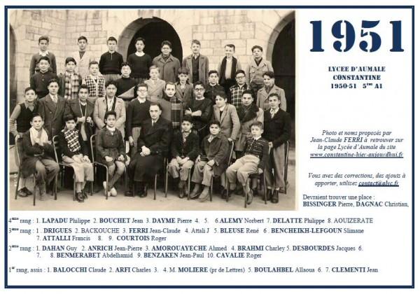 Aumale-1950-51-5èmeA1-Molière-jcf-na