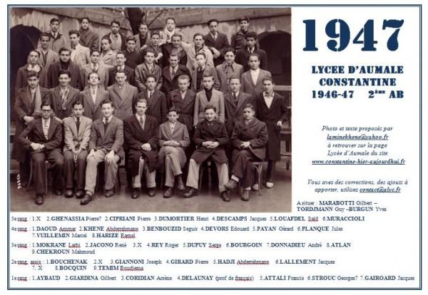 Une-A-1946-47-2eAB-Lamine-KHENE