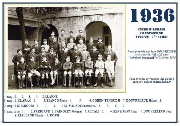 Une-Aumale-1935-36-7ème-DOUVRELEUR Jean