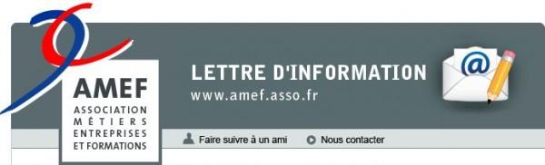 AMEF-lettre d-information