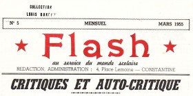 Uneàlaune-Flash n° 5-mars 1955
