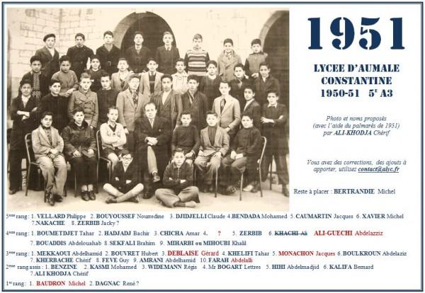 Une-Aumale-1950-51-5eA3-AliKhodja Chérif-Régis Widemann
