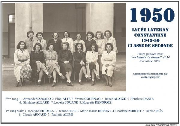 Une-Laveran-1949-50-2e-Bahuts n° 34-oct-2003
