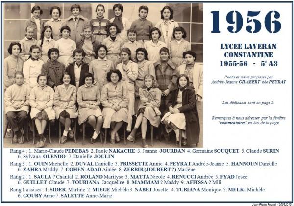 Une-Laveran-1955-56-5e A3 -AJG