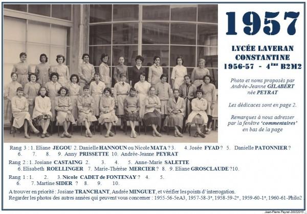 Une-Laveran-1956-57-4èmeB2M2-AJG