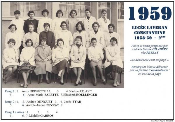 Une-Laveran-1958-59-2me-AJG