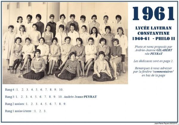Une-Laveran-1960-61-Philo-II-AJG