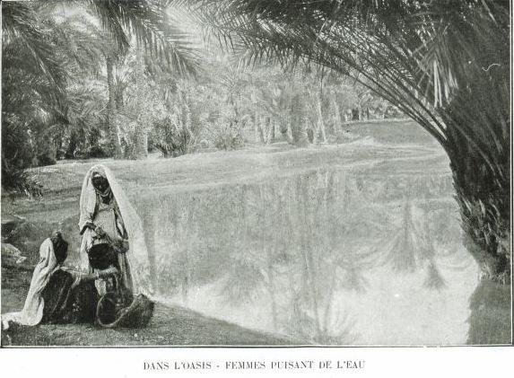 Sidi-Okba-L-OASIS SAINTE-Algérie Illustrée-1922