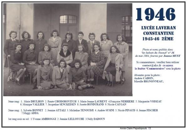 Une-Laveran-1945-46-2e-Jeanne-FISCHER_