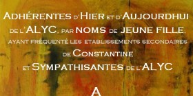 Uneàlaune-Alycéennes-par noms de jeune fille