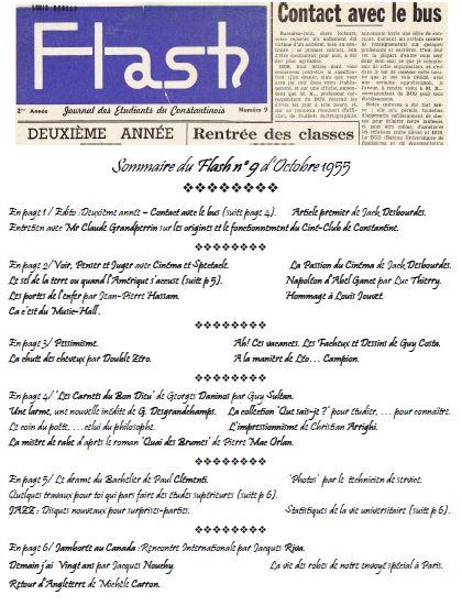 Capture-Une-Flash n° 9 - Octobre 1955