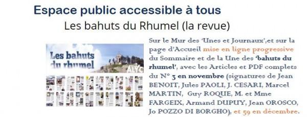 Accès au Sommaire, puis au PDF des Bahuts du Rhumel n° 3