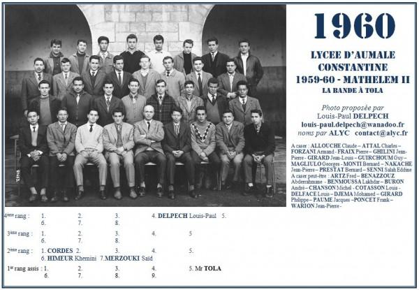 Une-A-1960-MathElem-II-La bande à Tola