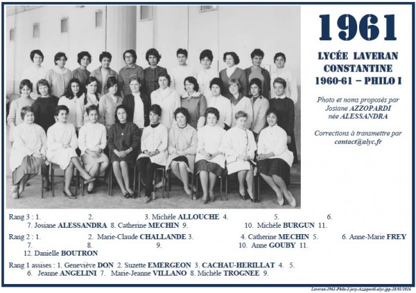 Une-L-1960-61-Philo I-Josy-