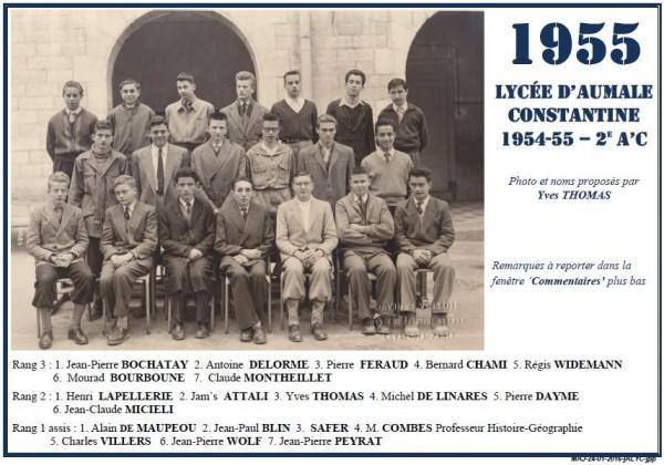 Une-A-1954-55-2eA'C-YThomas-