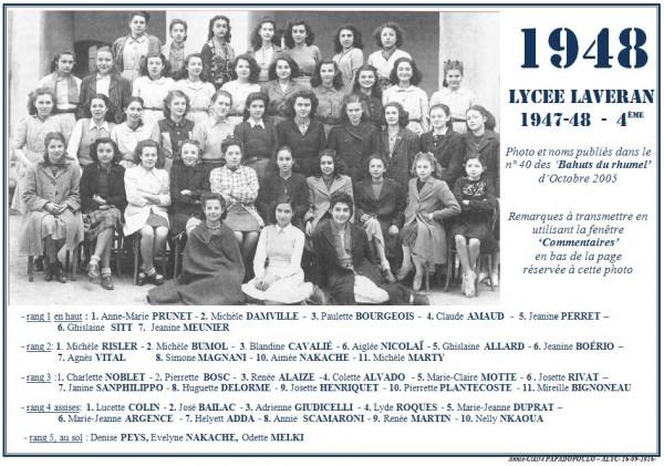 une-laveran-bahuts-40-1947-48-4eme