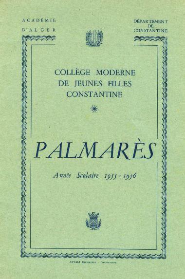 une-palmares-1956
