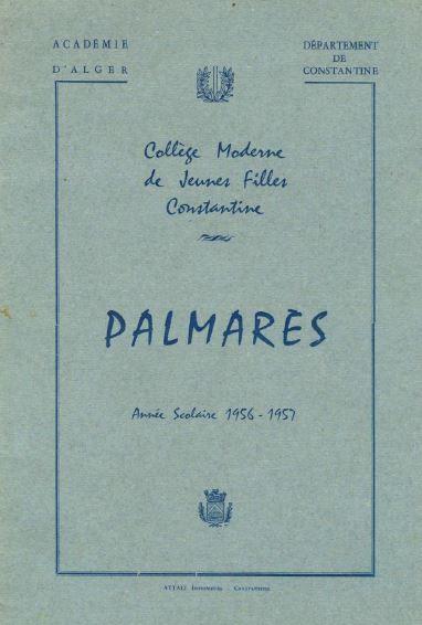 une-palmares-1957