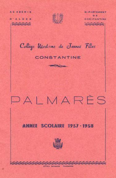 une-palmares-1958