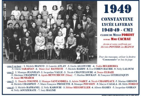Une-L-1949-CM2-MelleFORETS