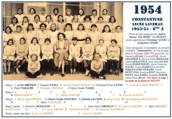 Une-Laveran-1954-6eA-AJG-CGuedj-JLéger