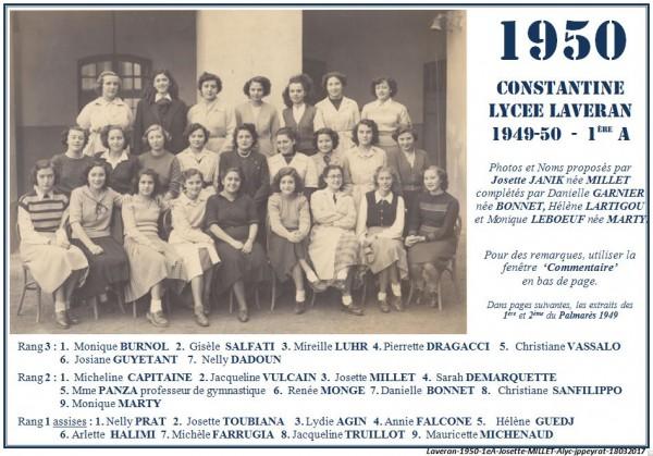 Une-L-1950-1eA-Josette-JANICK-MILLET-