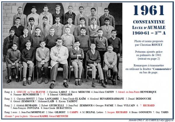 Une-A-1961-3eA1 Christian ROUET