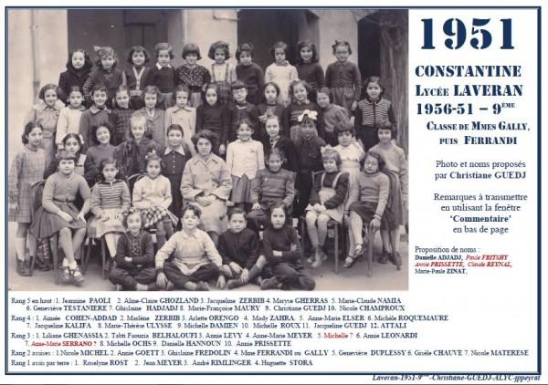 Une-L-1951-9e-MmeFERRANDI-CGUEDJ