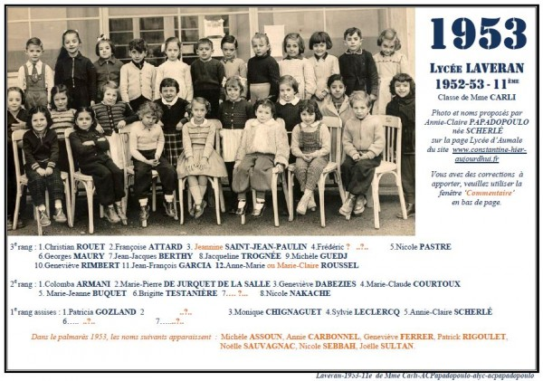 Une-L-1953-11e-classe de Mme CARLI-ACPapadopoulo2