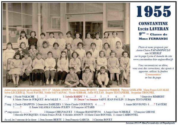 Une-L-1955-9e-Mme FERRANDI -Annie-Claire Papadopoulo2