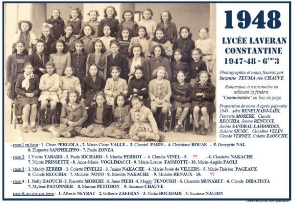 Une-Laveran-1947-48-6e3-S-CHAUVE-der