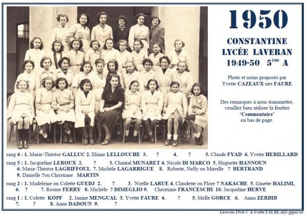 Une-Laveran-1950-5è-Y-Cazeaux2