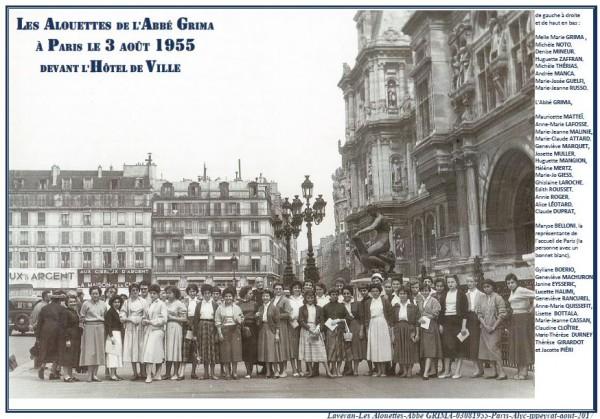 Une-Laveran-3-8-1955-Alouettes-Grima-à-Paris