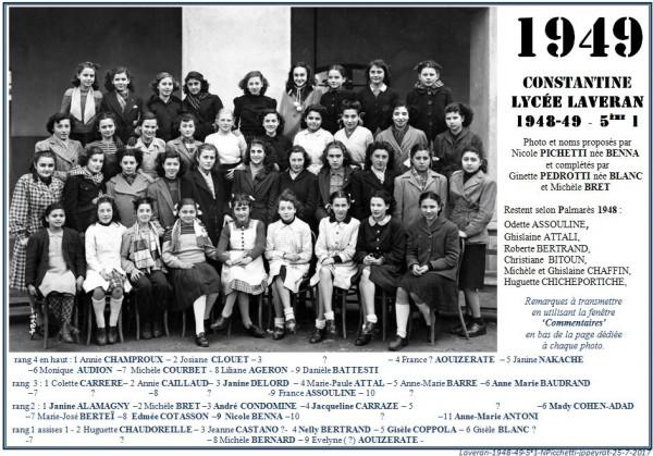 Une-Laveran-5eA1-1948-49-2