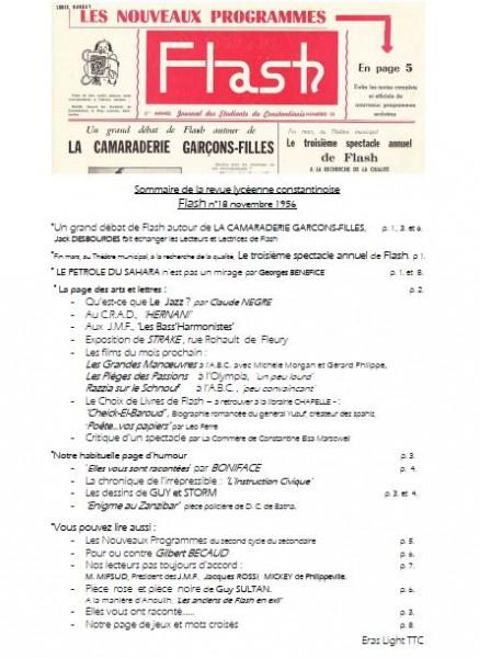 Une-Sommaire-Flash-18-nov-1956-1