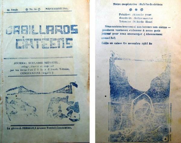 Une-babillards-cirteens-n°16-nov-1945