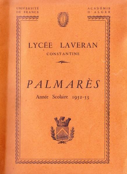 Une-Laveran-Palm1953-MmeGUEDJ