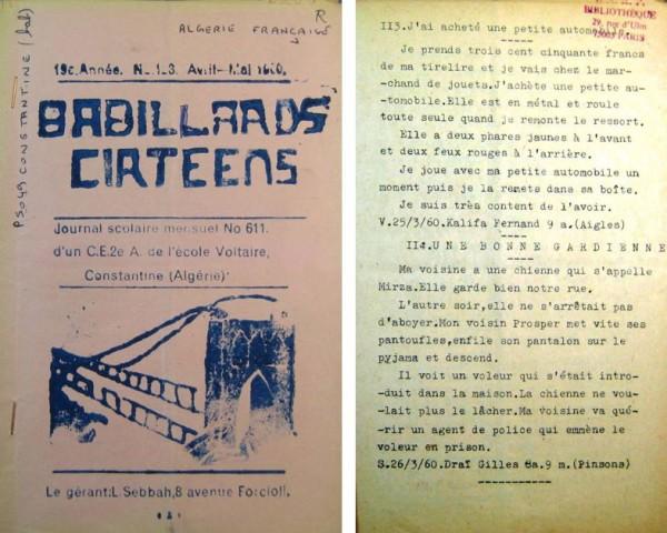 Une-Babillars-cirtéens-n°123-avril-1960