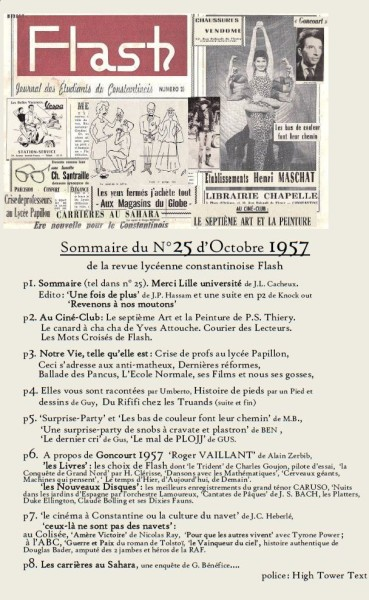 Une-Sommaire-Flash25-janvier 1958