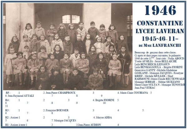 Une-Laveran-1945-46-11ème-JPA