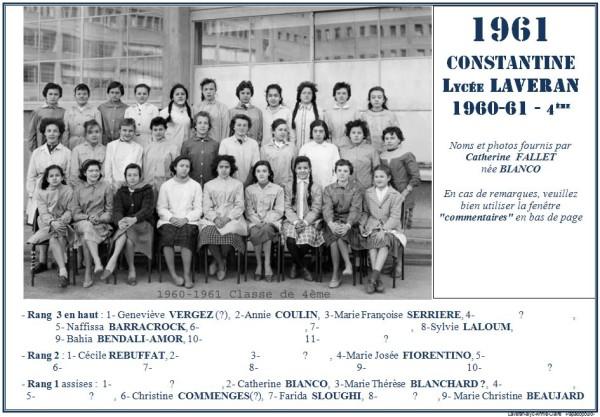 Une-Laveran-1960-61-4e-Catherine BIANCO-2